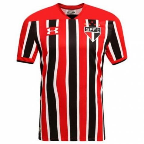 6d3ec311a2 São Paulo deve estrear nova camisa 2 em clássico contra o Santos