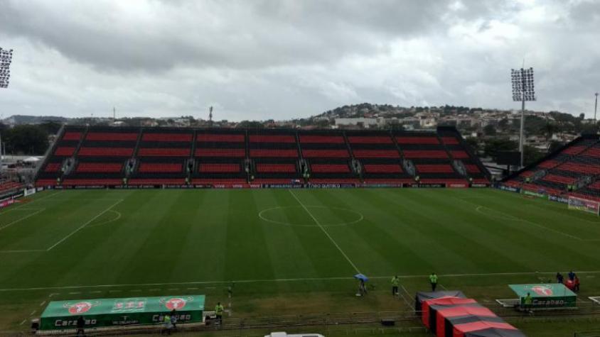 Flamengo x São Paulo - Ilha do Urubu 1382459b349e4