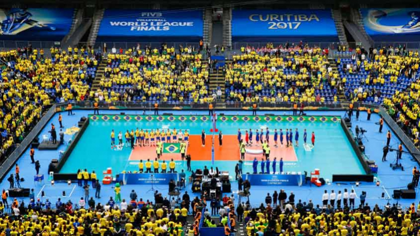 Liga Mundial de Vôlei - Brasil x Rússia