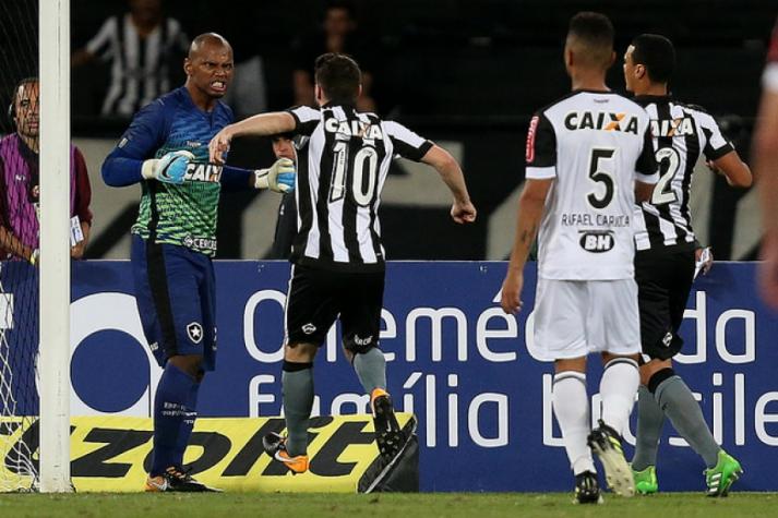 Renovação de Jefferson com o Botafogo será até o fim de 2018