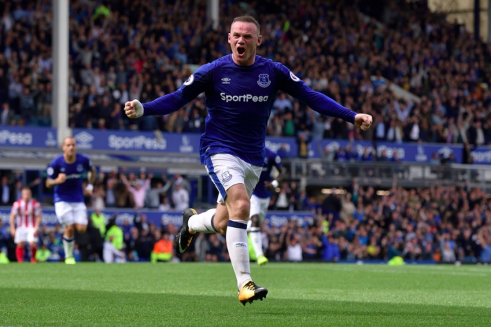Rooney - Everton x Stoke City