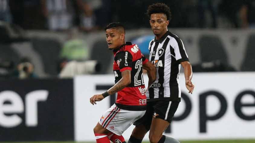 Botafogo e Flamengo ficam no empate no primeiro jogo da semifinal