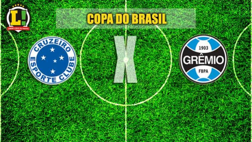 Cruzeiro recebe o Grêmio na outra partida semifinal da Copa do Brasil