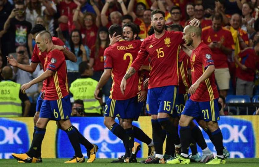 Eliminatórias: Espanha tem baixa de três titulares para os últimos jogos