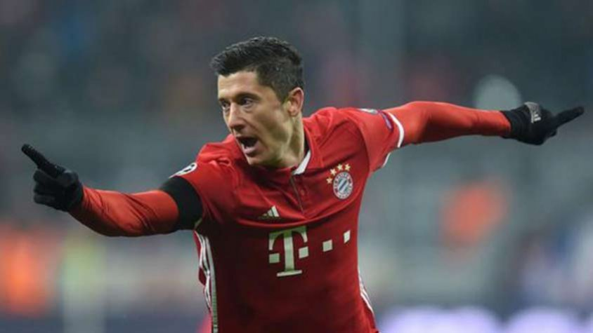 Lewandowski pode pintar no Real Madrid