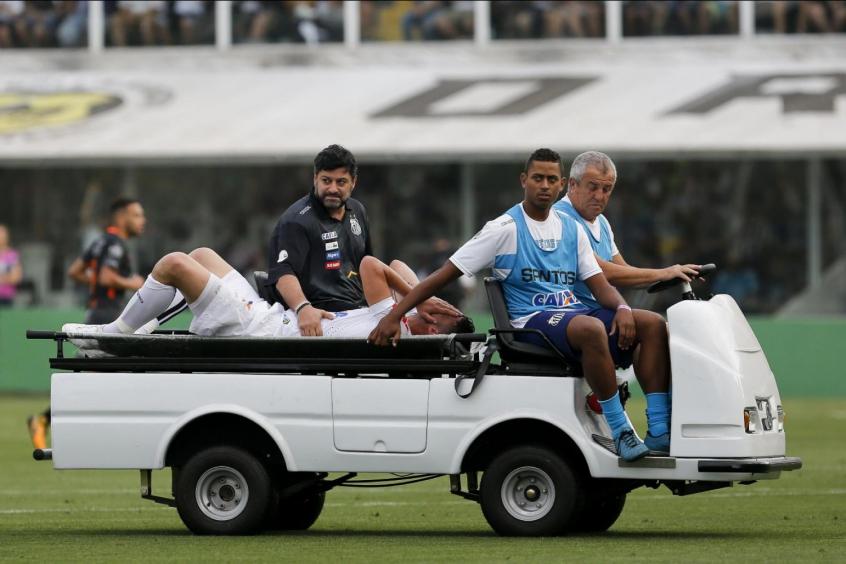 Gustavo Henrique passa por nova artroscopia no joelho