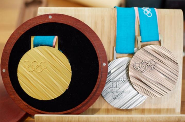 Medalhas de PyeongChang-2018 são apresentadas