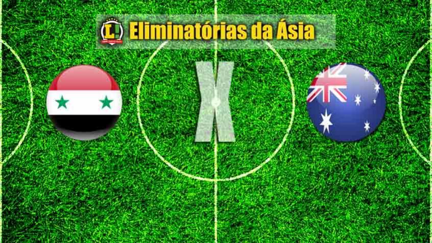 Mundial2018: Síria e Austrália empatam na primeira mão do play-off