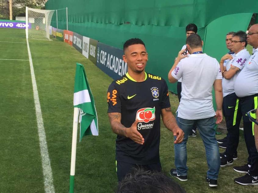 Tite escala Seleção com duas mudanças em treino no Palmeiras  06305084a8bd7