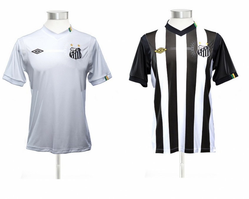 ad5048f643 Camisa do Santos da Umbro