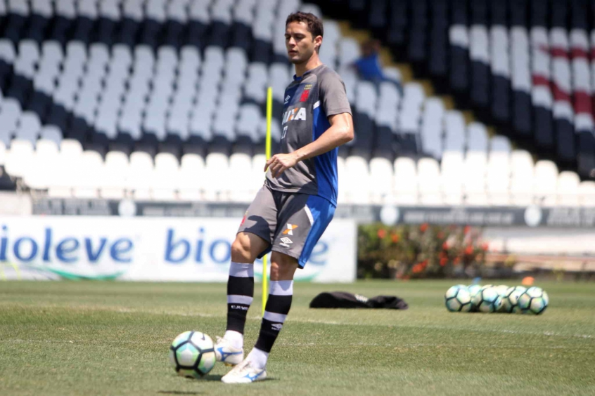 Anderson Martins treino do Vasco