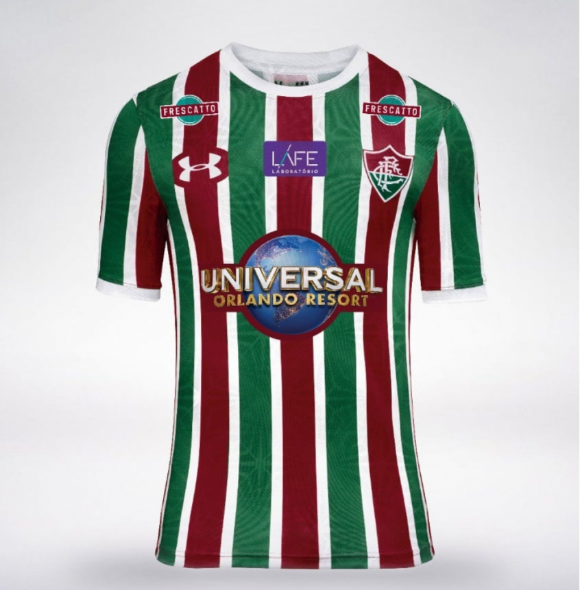 Universal Orlando Resort estampará camisa do Fluminense