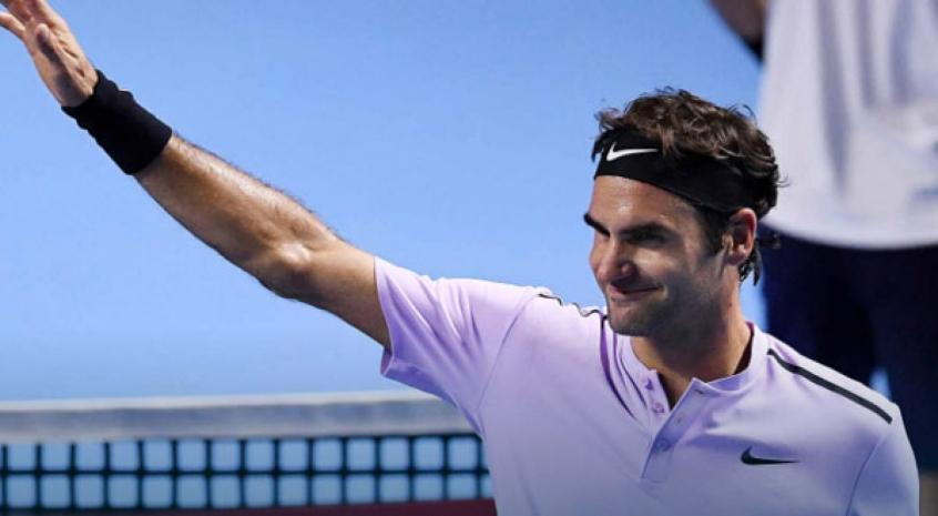 Federer e Del Potro na final de Basileia — Ténis