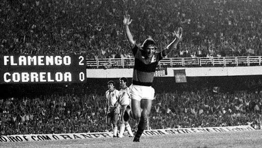 1981 - Flamengo x Cobreloa