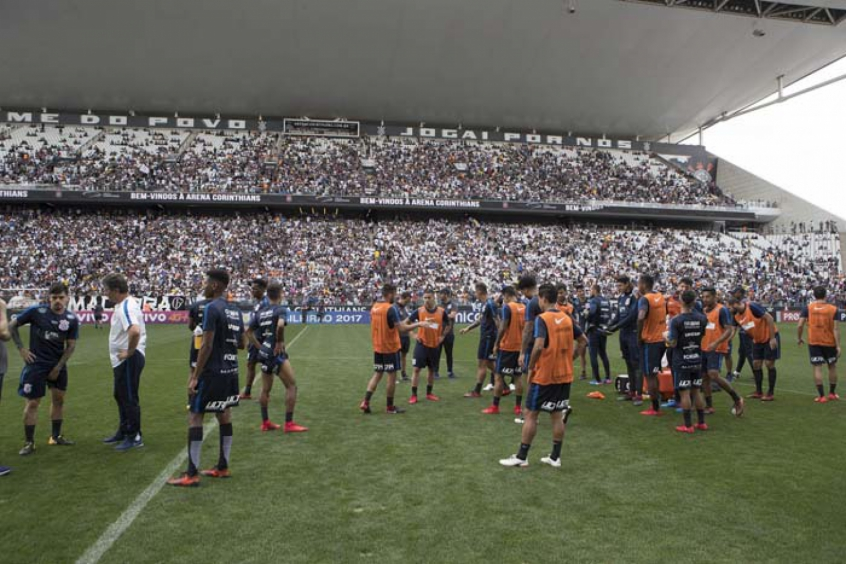 Corinthians fará treino na Arena na véspera do Dérbi e tenta abrir à Fiel d4680120d5972