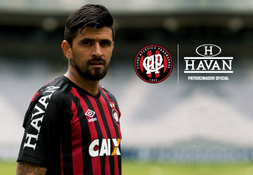 Atlético-PR anuncia Havan como patrocinadora até o fim de 2018  23d6978c2d1b5