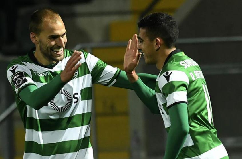 Paços de Ferreira-Sporting, 1-2 — Resultado Final