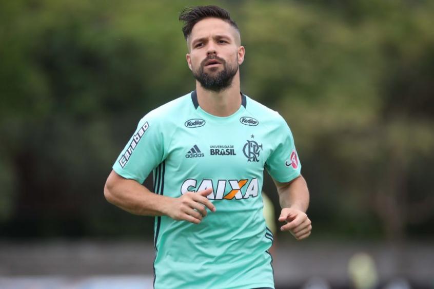 Diego é um dos líderes do elenco do Flamengo e também um dos pilares da  equipe d50949d2290cd