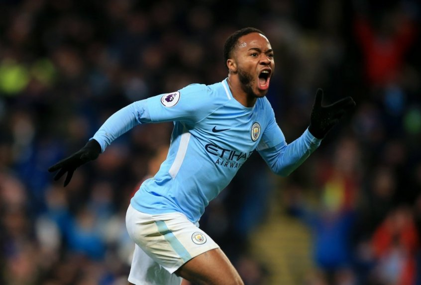 Sterling - Manchester City x Southampton