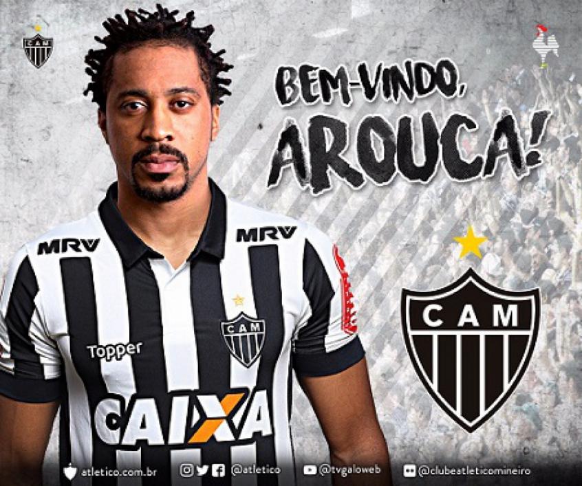Depois do acerto, Arouca finalmente é anunciado pelo Atlético-MG