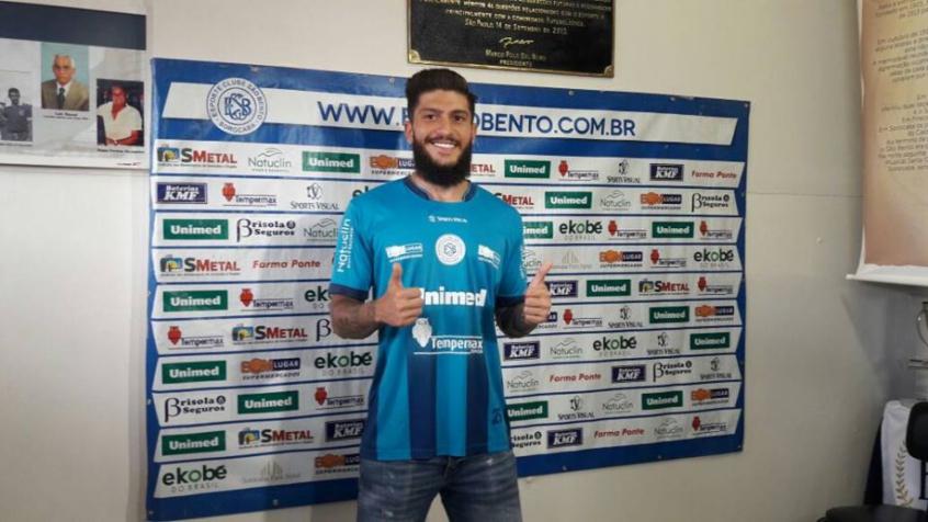 96d328e02b Jogador foi revelado em Cotia e agora defenderá o São Bento no Paulistão