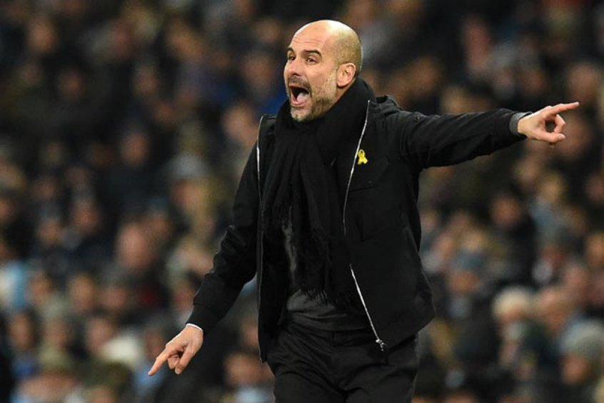 Guardiola critica postura do Manchester City em segundo tempo