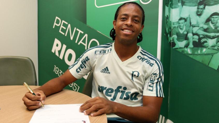 13c3d0fdd42 Palmeiras dá aumento salarial e amplia contrato de Keno até 2021 ...