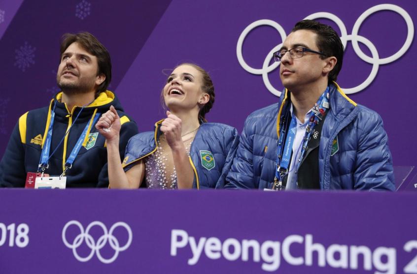 Brasil está na final da patinação artística pela 1ª vez nas Olimpíadas