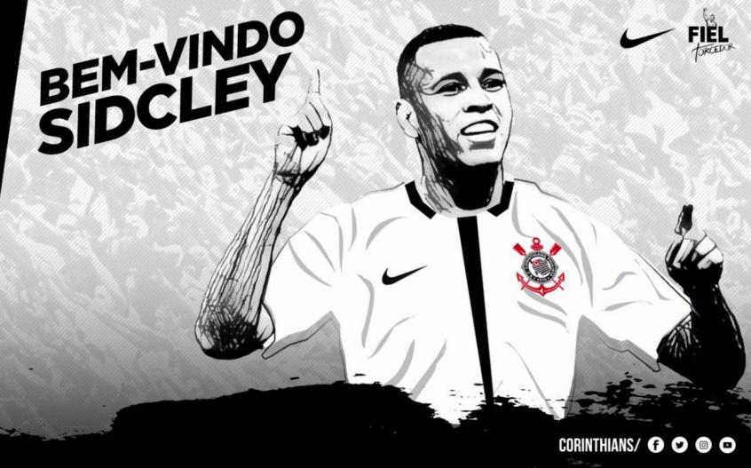 Corinthians anuncia contratação do lateral-esquerdo Sidcley