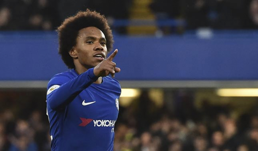 Willian - Chelsea x Crystal Palace