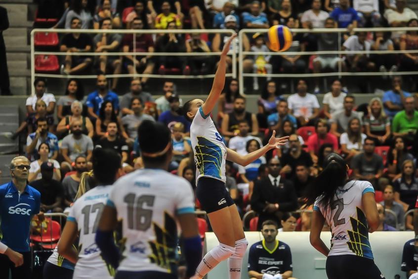 Sesc Rio x Pinheiros - Superliga Feminina