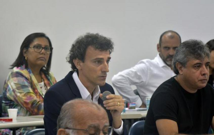 Emanuel é presidente da Comissão de Atletas do Voleibol de Praia  (Divulgação/CBV)