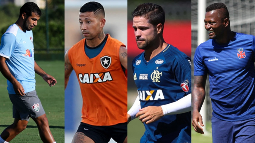 Montagem Fluminense Botafogo Flamengo e Vasco. Semifinais do Campeonato  Carioca ... 05f738bcbee46