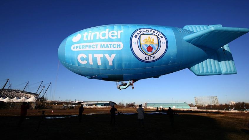 Manchester City e Tinder fecham parceria multimilionária
