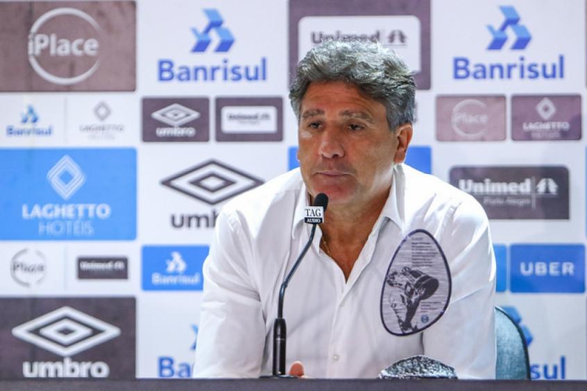 f63fce663a576 Confiança lá e cá  Flamengo e Grêmio estão otimistas por Renato ...