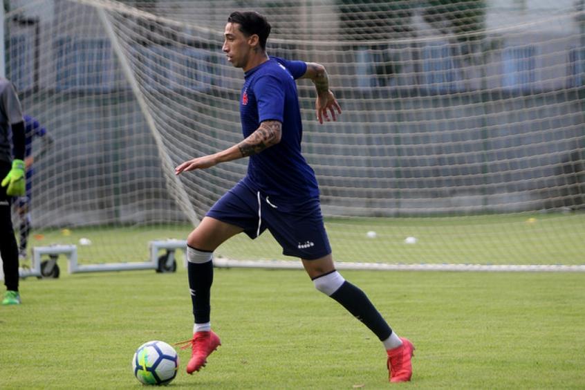 36cdb5e1d2 Rildo é testado por Zé Ricardo e pode ser titular contra o Atlético-MG -  FutNet