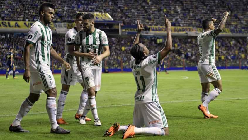 Palmeiras &#39copa&#39 o Boca, vence a primeira na Bombonera e avança na Libertadores