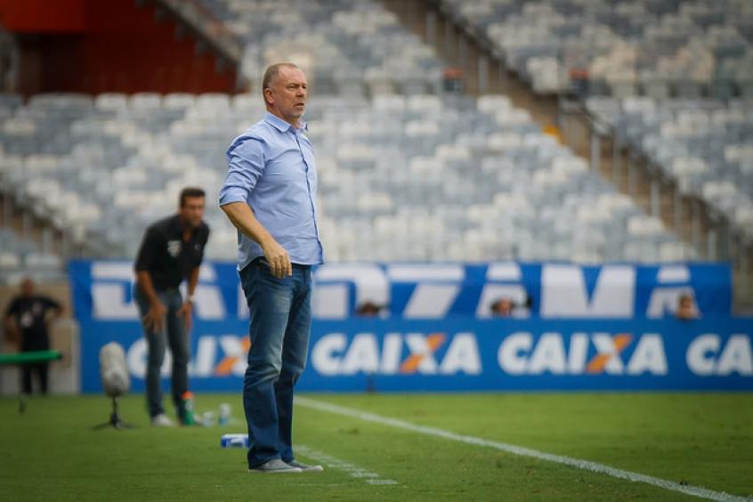 431f7fe3389cd Mano cobrou dos seus jogadores uma postura defensiva mais forte nos  próximos jogos- (Foto  Vinnicius Silva   Cruzeiro)