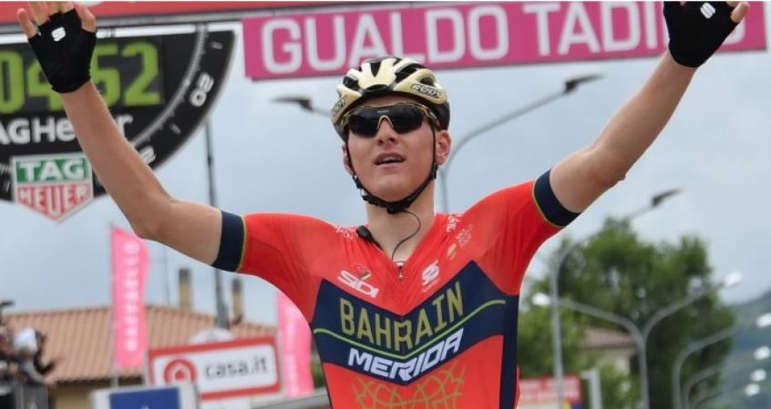 José Gonçalves termina décima etapa do Giro em décimo