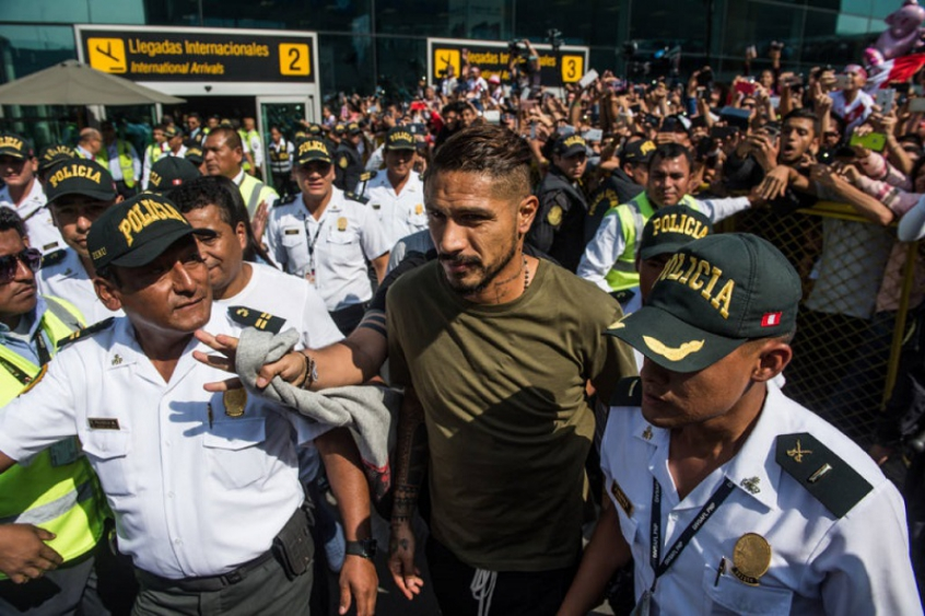 Guerrero comemora liberação da Justiça para jogar a Copa do Mundo ... b393536b25c79