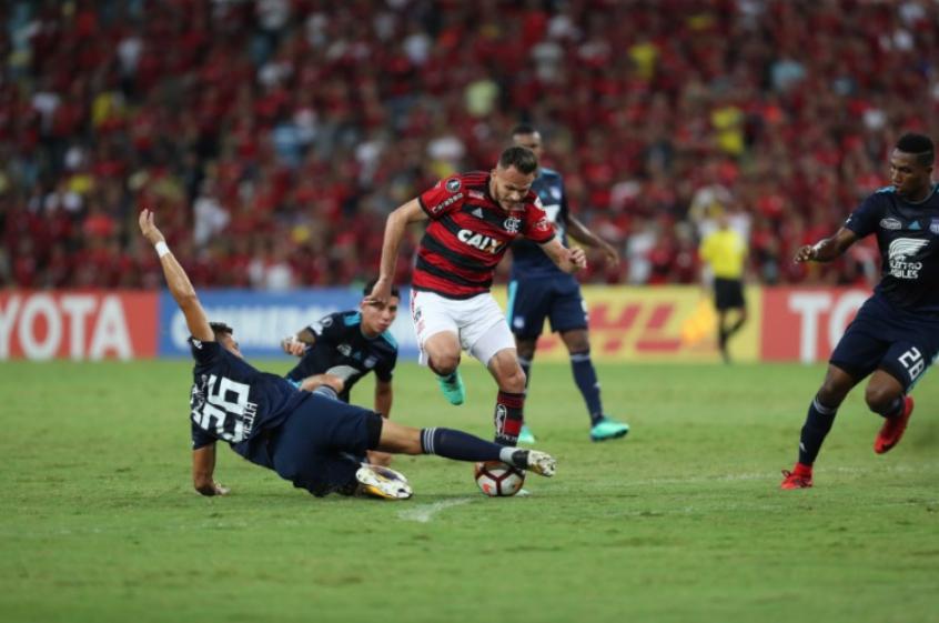 Renê - Flamengo x Emelec