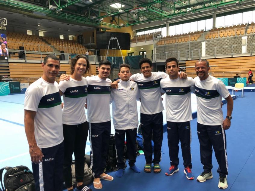 Brasil está garantido na final do solo na Copa do Mundo de Ginástica ... f779c759d9512