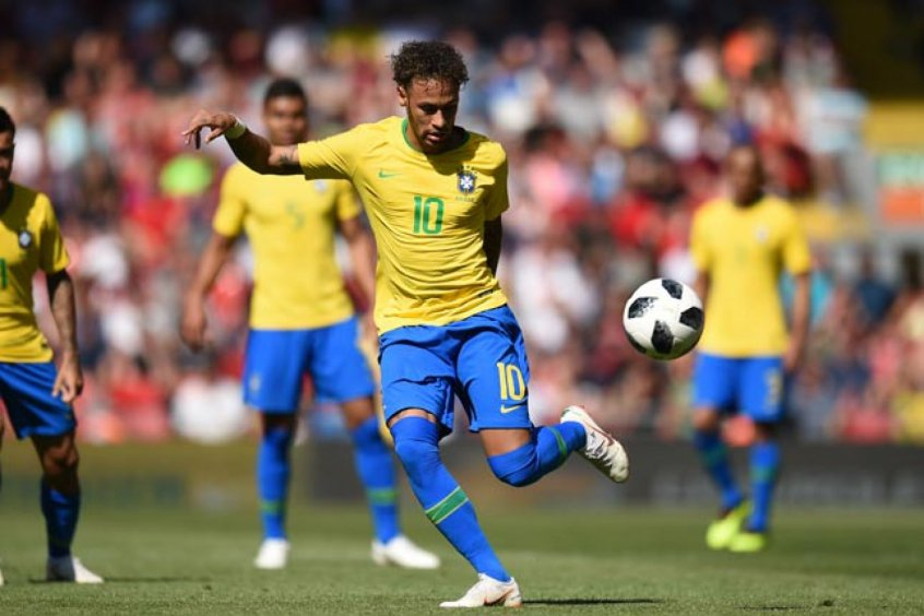 Neymar - Brasil x Croácia