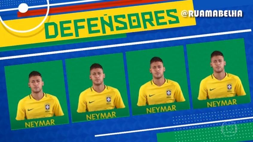82d44658e9 Haja Neymar! Esse vídeo do Galvão escalando a seleção viralizou na ...