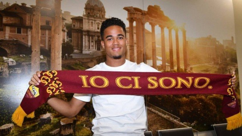 Justin Kluivert - Roma