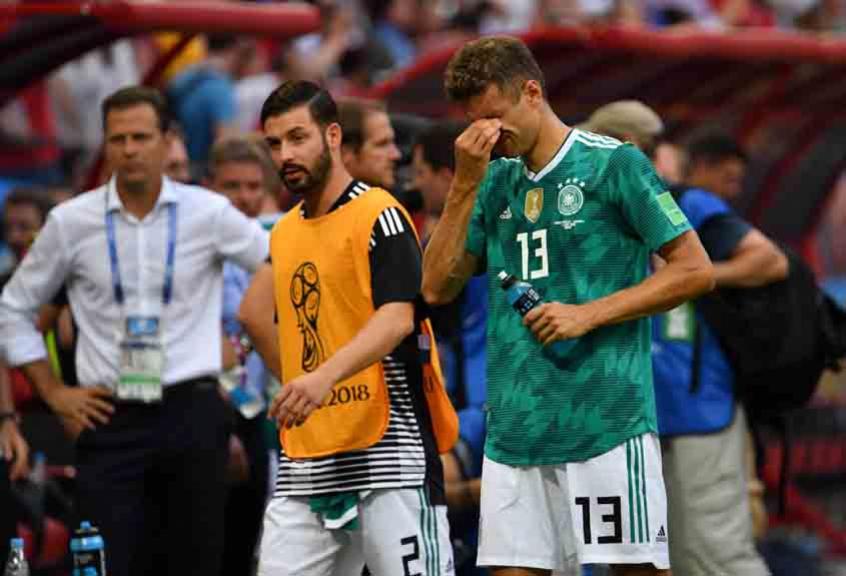 9a1e37d8e4c12  Maldição  das campeãs  Alemanha não é a primeira a decepcionar na Copa  seguinte ao título
