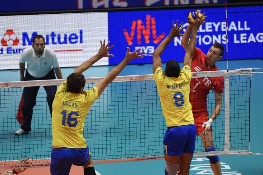 68a5883726 Brasil enfrenta a Holanda pela terceira rodada no Mundial de vôlei ...