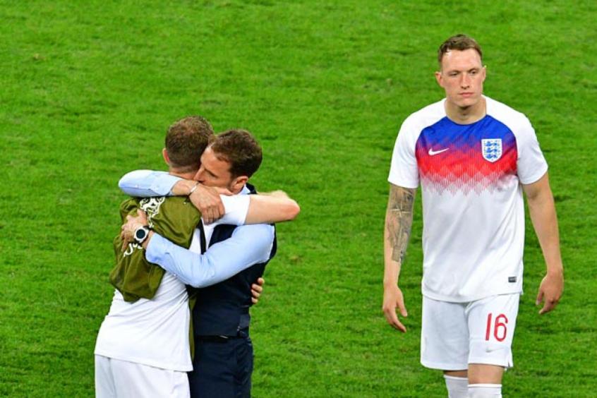 Southgate elogia jogadores ingleses   Ninguém esperava chegar tão ... 7c73af0bc77f0