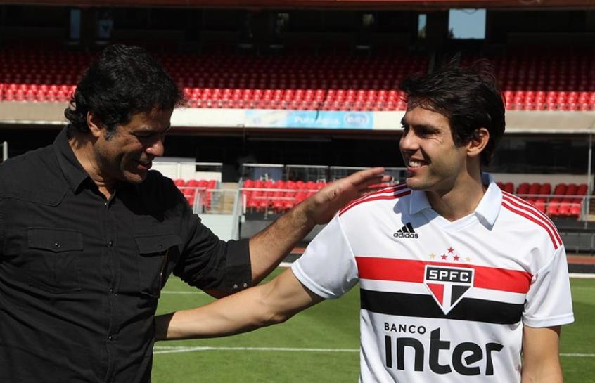 Kaká usa Raí como tutor e vê cargo no São Paulo como possibilidade ... ae5a34b4a3836