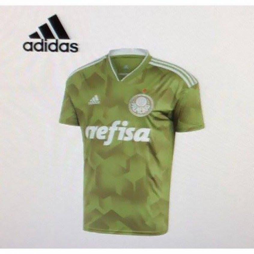 9f8fc9584858d Vaza a possível nova camisa 3 do Palmeiras